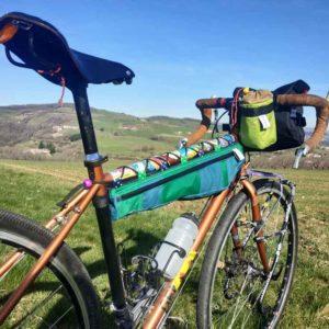 Le rouquin qui roule sacoches de vélo écologiques