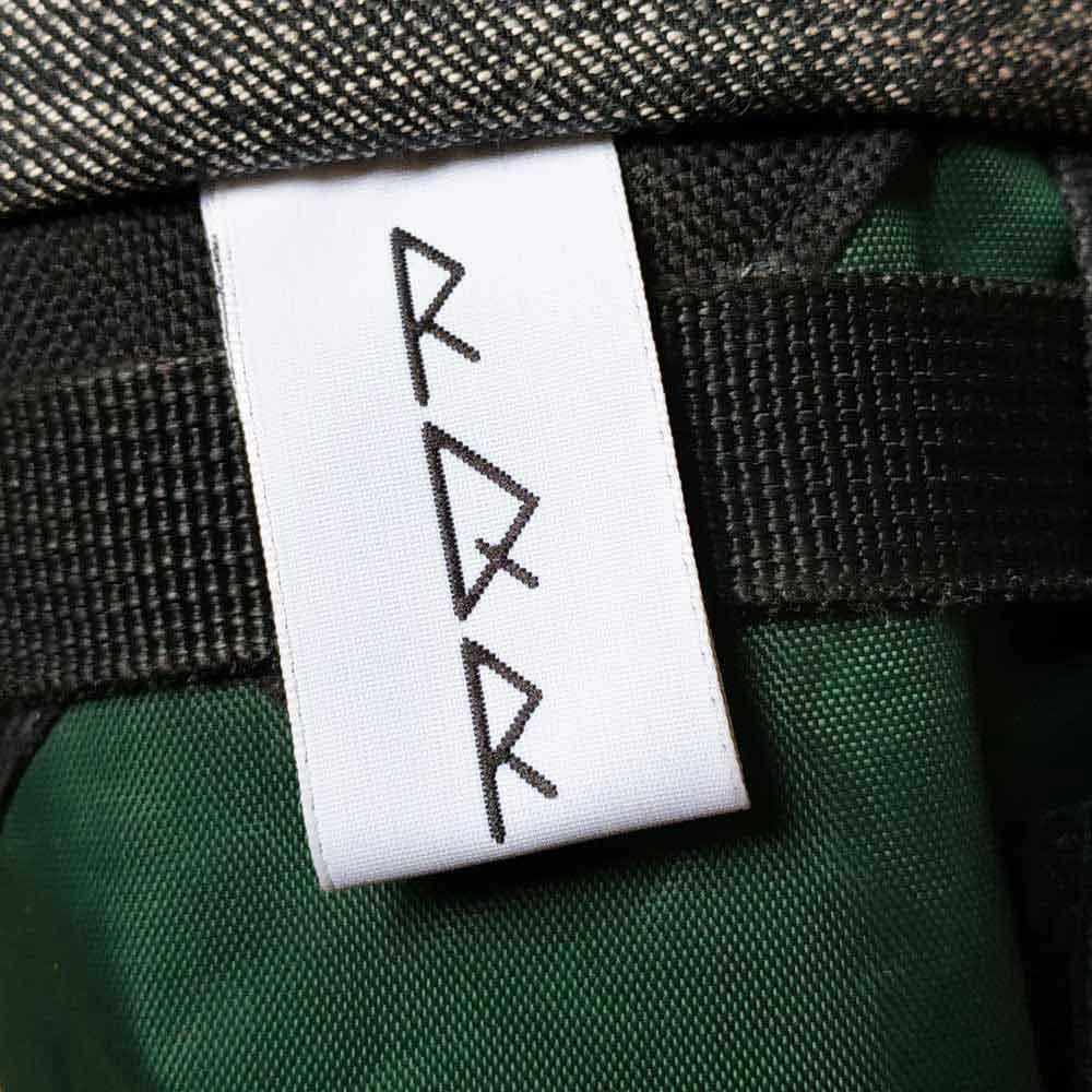 Etiquette en polyester recyclé
