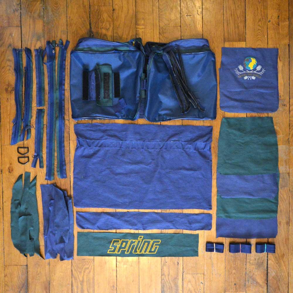 Upcycling d'un sac de sport / de voyage