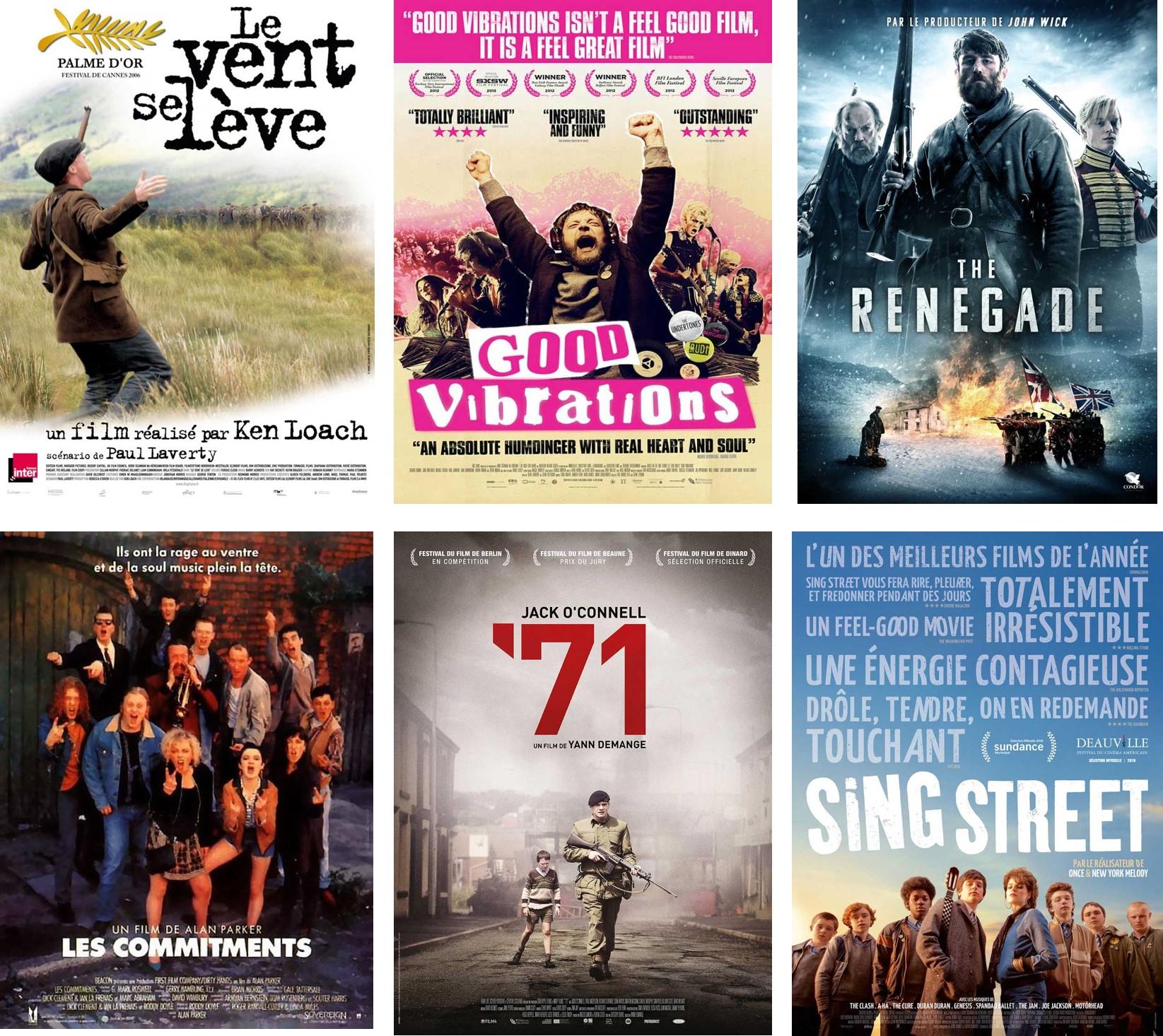 Top films irlandais