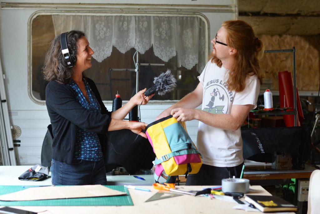 Interview Morgan Large et Patrick Pardy radio RKB