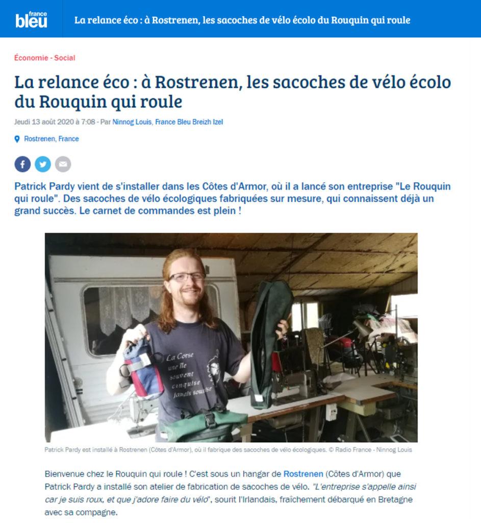 Interview de la radio France Breu